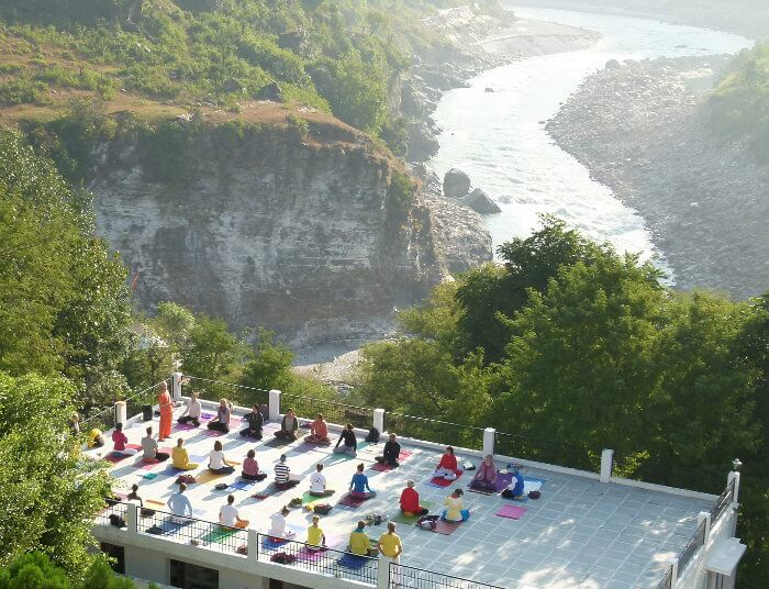 Yoga training course in India